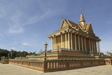 Main Temple at Udon Monastery (Vipassana Dhura Buddhist Centre) at Phnom Udon Photographic Print by Stuart Forster