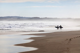 Surfers at Cape Woolamai, Phillip Island, Victoria, Australia, Pacific Photographic Print by Lynn Gail
