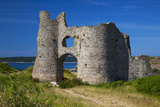 Pennard Castle, Overlooking Three Cliffs Bay, Gower, Wales, United Kingdom, Europe Photographic Print by Billy Stock