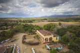 View of Hacienda from the Slave Tower Photographic Print by Jane Sweeney
