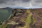 Track on Bamford Edge Photographic Print by Eleanor Scriven