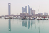 City Skyline Looking Towards the Emirates Palace Hotel and Etihad Towers Photographic Print by Jane Sweeney