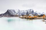 Christian Kober - Sakrisoy, Moskenesoy, Lofoten Islands, Norway, Scandinavia, Europe - Fotografik Baskı