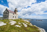 Stone Lighthouse in Rose Blanche, Remote Village in Southern Newfoundland, Canada, North America Photographic Print by Michael Runkel