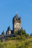 Cochem Castle, Moselle Valley, Rhineland-Palatinate, Germany, Europe Photographic Print by Michael Runkel