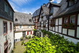 Half Timbered Houses in Beilstein, Moselle Valley, Rhineland-Palatinate, Germany, Europe Photographic Print by Michael Runkel