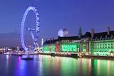 Millennium Wheel (London Eye) Photographic Print by Markus Lange