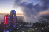 View of Fallsview Casino Resort and the American and Horseshoe Falls Photographic Print by Jane Sweeney