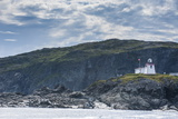 Fox Head Lighthouse in St. Anthony, Newfoundland, Canada, North America Photographic Print by Michael Runkel