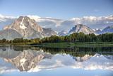 Water Reflection of Mount Moran Photographic Print by Richard Maschmeyer
