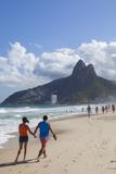 Ipanema Beach, Rio De Janeiro, Brazil, South America Papier Photo par Ian Trower