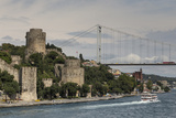 Rumeli Hisari (Fortress of Europe) and Fatih Sultan Mehmet Suspension Bridge Photographic Print by Eleanor Scriven