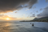 Basseterre at Sunset, St. Kitts, St. Kitts and Nevis, West Indies, Caribbean, Central America Photographic Print by Eleanor Scriven