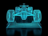 Formula One Mesh Photographic Print by  nmcandre