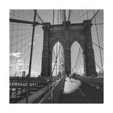 Brooklyn Bridge, New York City Photographic Print by Henri Silberman