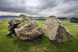Split Stone at Norber, Yorkshire, England, United Kingdom, Europe Photographic Print by Mark Sunderland