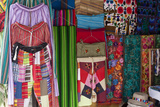 Local Handicrafts, San Pedro La Laguna, Lago Atitlan, Guatemala, Central America Photographic Print by Colin Brynn