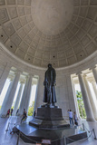 Inside the Rotunda at the Jefferson Memorial Photographic Print by Michael Nolan