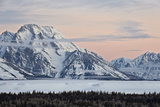 Mount Moran at Dawn in the Winter Photographic Print by James Hager