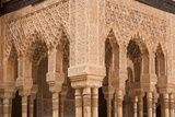 Patio of the Lions Columns from the Alhambra Palace Photographic Print by  Lotsostock
