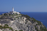 Lighthouse at Cap De Formentor, Majorca (Mallorca), Balearic Islands, Spain, Mediterranean, Europe Photographic Print by Markus Lange