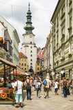 City Center of Bratislava, Slovak Republic, Europe Photographic Print by Karl Thomas