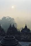 Borobodur, Kedu Plain, Java, Indonesia, Asia Fotografisk tryk af Jochen Schlenker