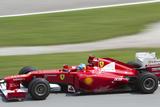 Fernando Alonso Exits Turn 15 Papier Photo par  cjmac