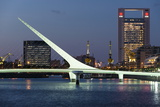 Puente De La Mujer (Bridge of the Woman) at Dusk Photographic Print by Ben Pipe