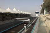 Formula 1 Circuit in Abu Dhabi Photographic Print by  p lange