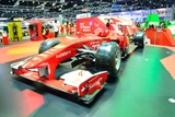 Nonthaburi - December 1: Ferrari Formula 1 Car Display at Thailand International Motor Expo on Dece Photographic Print by  Thampapon1
