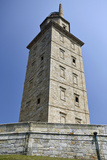 Hercules Tower, Oldest Roman Lighthouse in Use Todaya Coruna, Galicia, Spain, Europe Photographic Print by Matt Frost