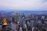 Kuala Lumpur Skyline Seen from Kl Tower, Kuala Lumpur, Malaysia, Southeast Asia, Asia Photographic Print by Jochen Schlenker