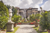 The Gardens of Palazzo Pfanner in Lucca Which Date Back to the 17th Century Photographic Print by Julian Elliott