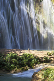 El Limon Waterfall, Eastern Peninsula De Samana, Dominican Republic, West Indies, Caribbean Photographic Print by Jane Sweeney