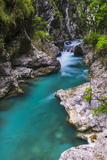 Tolminka River, Tolmin Gorges, Triglav National Park (Triglavski Narodni Park), Slovenia, Europe Photographic Print by Matthew Williams-Ellis