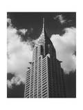 Chrysler Building, New York City, View from Street Photographic Print by Henri Silberman