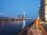City Skyline, Busan, South Korea, Asia Photographic Print by Christian Kober