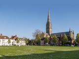 Salisbury Cathedral, Salisbury, Wiltshire, England, United Kingdom, Europe Photographic Print by Charles Bowman