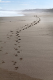 Footprints Along at Cape Woolamai, Phillip Island, Victoria, Australia, Pacific Photographic Print by Lynn Gail