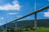 Millau Viaduct, Millau, Midi-Pyrenees, France, Europe Photographic Print by Karl Thomas