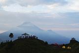 Mount Sindoro, Dieng Plateau, Java, Indonesia, Southeast Asia, Asia Photographic Print by Jochen Schlenker