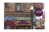 Chinatown, San Francisco Signs 2 Photographic Print by Henri Silberman