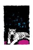 White Tiger Prints by Billy Perkins
