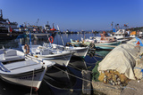 Fishing Boats and Nets, Sinop, Black Sea Coast, Anatolia, Turkey, Asia Minor, Eurasia Photographic Print by Eleanor Scriven