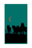 Wolves Prints by Billy Perkins