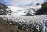 Svinafellsjokull Glacier, Skaftafell, Iceland, Polar Regions Photographic Print by Ethel Davies