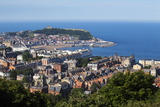 Scarborough from Olivers Mount, North Yorkshire, Yorkshire, England, United Kingdom, Europe Photographic Print by Mark Sunderland