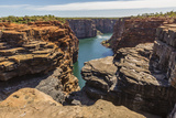 The Sandstone Cliffs of the King George River, Koolama Bay, Kimberley, Western Australia Photographic Print by Michael Nolan