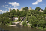 Ludlow Castle Above the River Teme, Ludlow, Shropshire, England, United Kingdom, Europe Photographic Print by Stuart Black